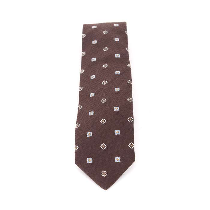 Stile Latino Accessories Man Ties Brown 148 2TMCR44 M20