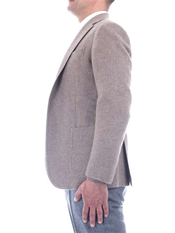 Stile Latino Clothing Man Blazer Beige GV LEO 35 2MKG70 M28