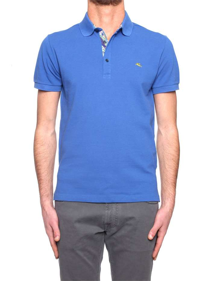 competitive price 892b9 9c451 Etro Polo Uomo Blu | Michi d'Amato
