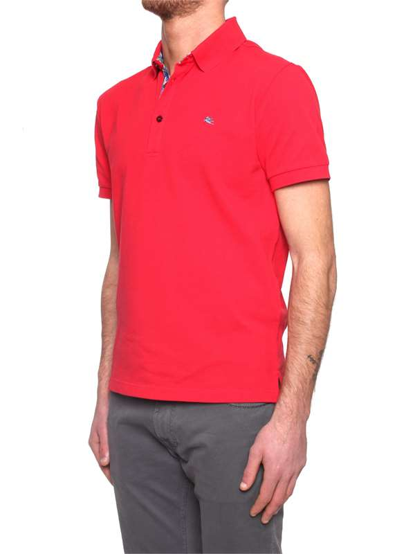 huge selection of 078f3 94138 Etro Polo Uomo Rosso | Michi d'Amato