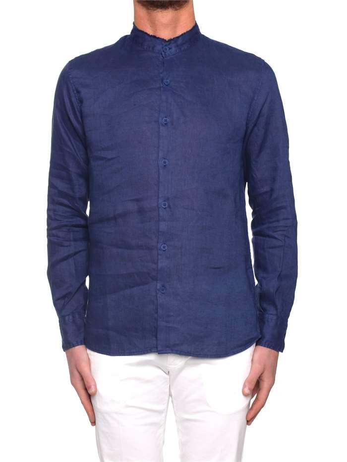 detailed look a81d6 5b955 Original Vintage Camicie Uomo Blu | Michi d'Amato