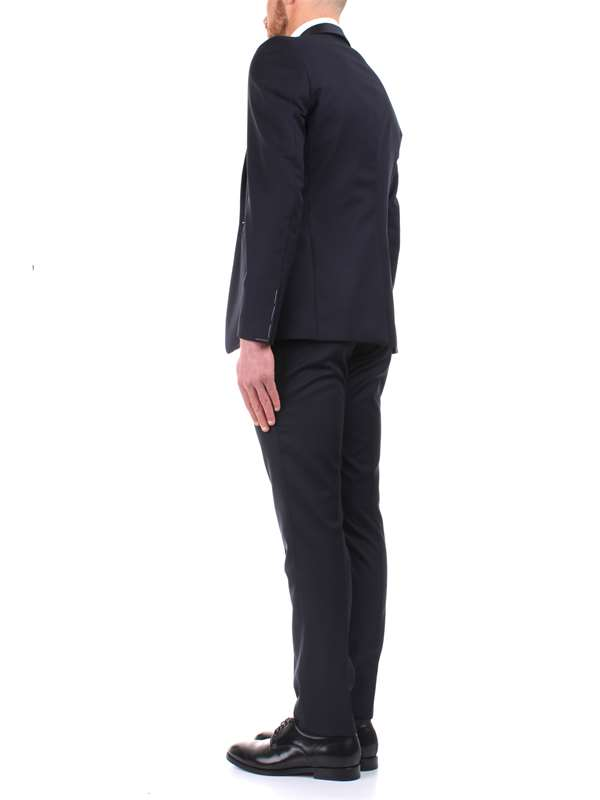 Tagliatore Clothing Man Clothes Blue EFBR18A0107UPA164