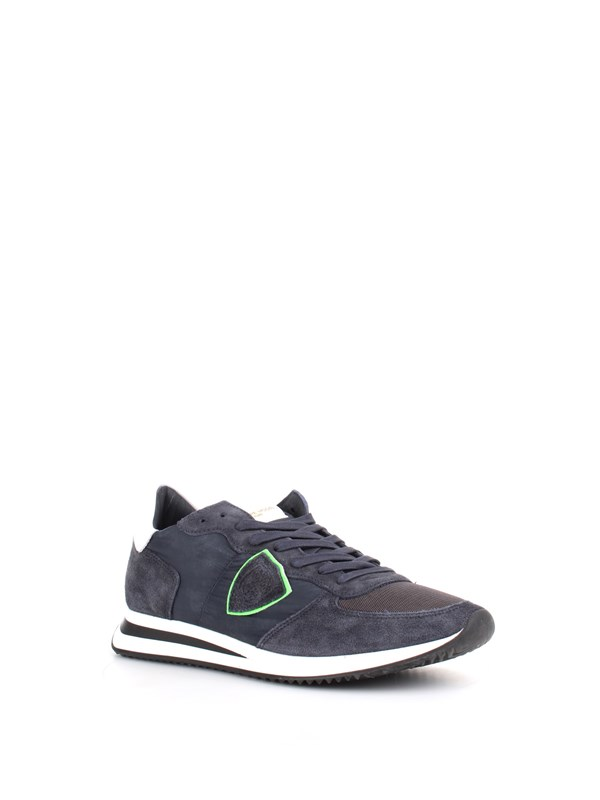 Philippe Model Shoes Man Sneakers Blue A19ITZLUW0