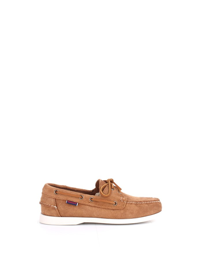 Sebago Shoes Man Loafers Brown 7000G90