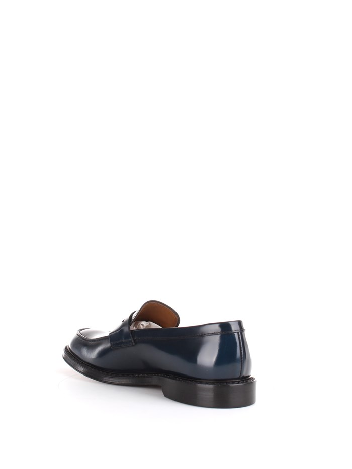 Doucal's Shoes Man Loafers Blue DU2405PHOEUF007